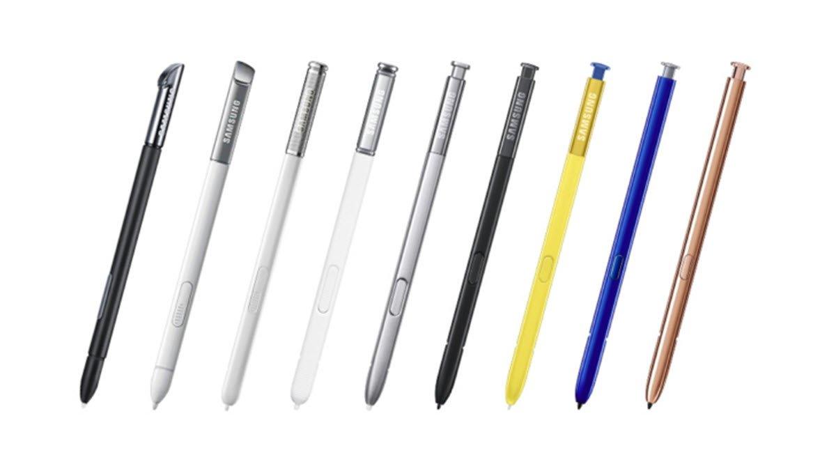 تاريخ قلم S Pen