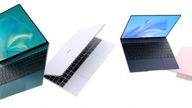 صورة الإعلان عن لابتوب Huawei MateBook X الجديد