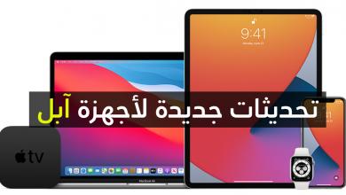 صورة أخيرا : إصدار تحديث iOS 14 و iPadOS 14 و watchOS 7 و tvOS 14