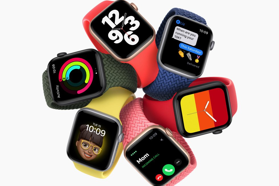 ساعة Apple Watch SE