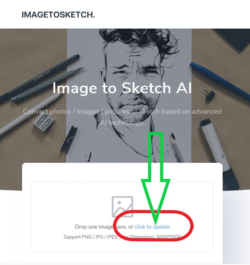 تحويل الصورة إلى رسم بقلم الرصاص باحترافية