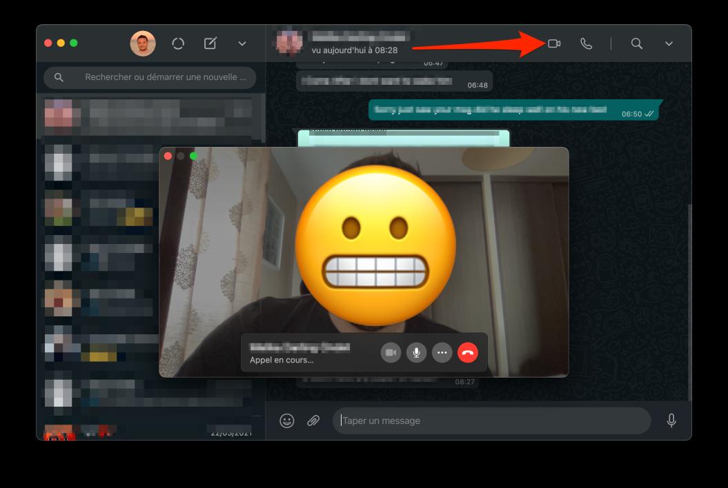 كيفية إجراء مكالمة صوتية او فيديو من الكمبيوتر على الوتساب