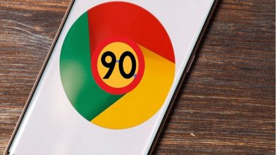 جوجل كروم 90