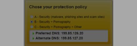 طريقة منع المواقع الإباحية